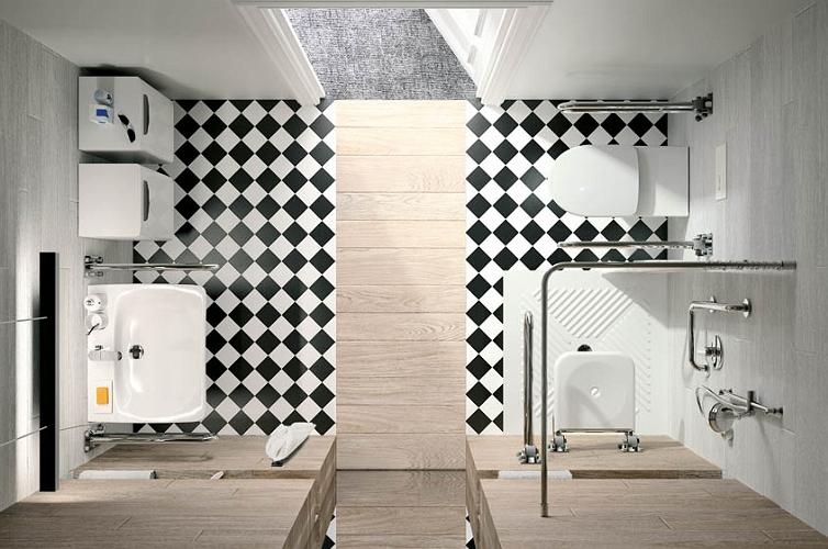 Nova Pro Bez Barier Inspiracje łazienki Koło