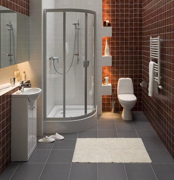 Ванная комната с компактным туалетом от бренда Koło
