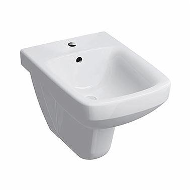 Bidet Wiszący Nova Pro Prostokątny Z Otworem łazienki Koło